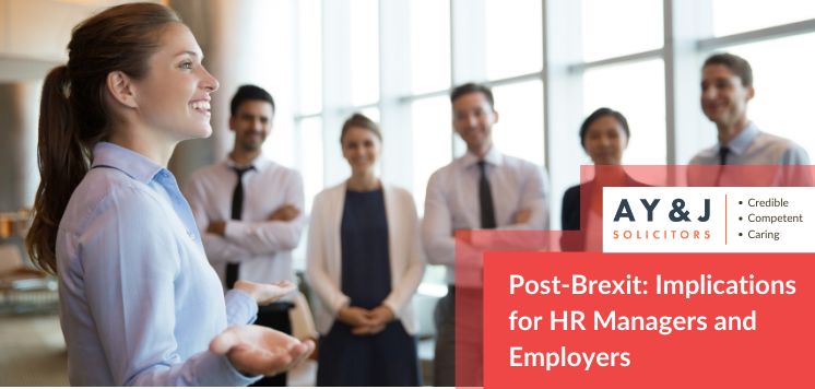 Post Brexit Implications for HR Managers and Employers