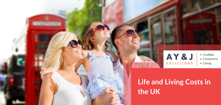 Life and Living Costs in the UK