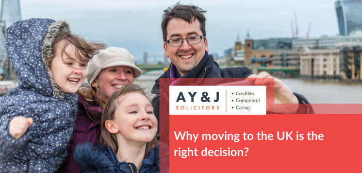 Why moving to the UK is the right decision?