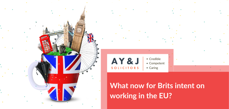 What now for Brits intent on working in the EU?