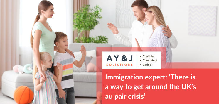 Immigration expert: 'There is a way to get around the UK's au pair crisis'