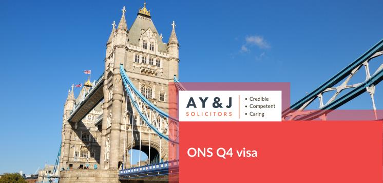ONS Q4 Visa