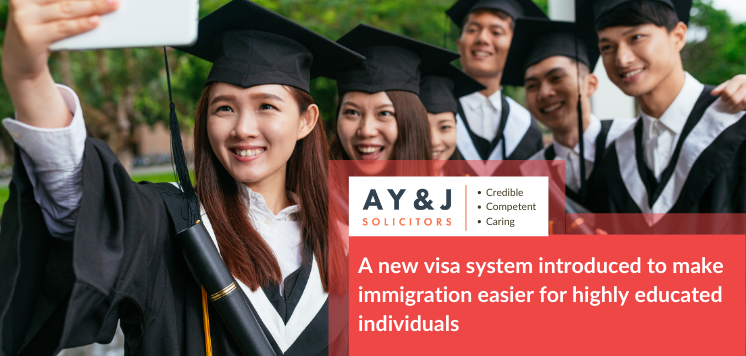 A new visa system introduced to make immigration easier for highly educated individuals