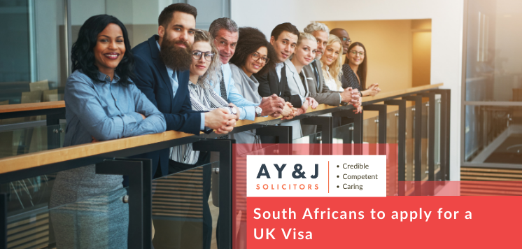 South Africans to apply for a UK Visa