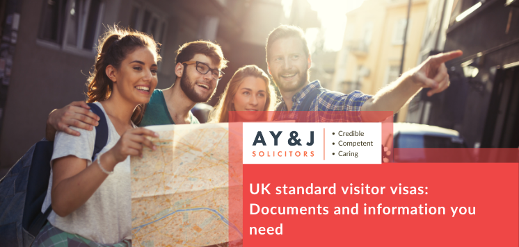 UK standard visitor visas: Documents and information you need