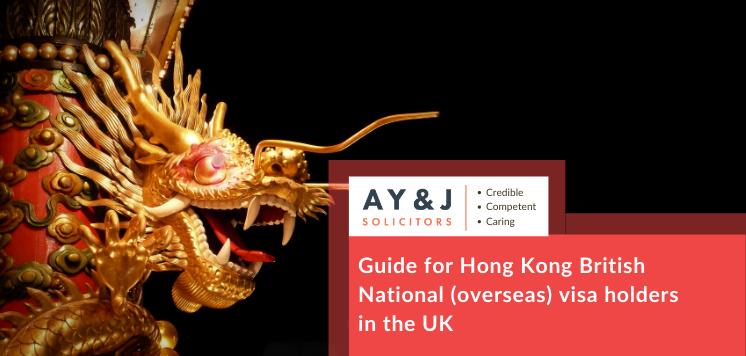 Guide for Hong Kong British National (Overseas) visa holders in the UK