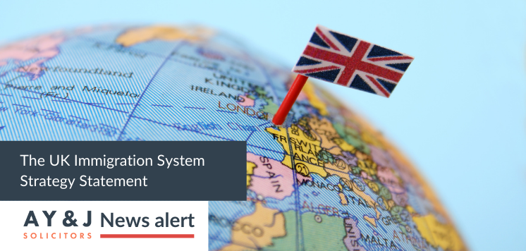 The UK Immigration System Strategy Statement