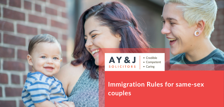 Immigration Rules for same-sex couples