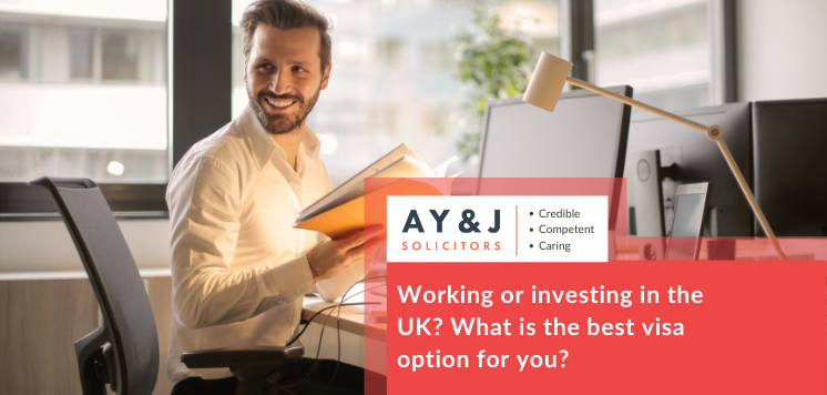 Working or investing in the UK? What is the best visa option for you?