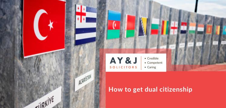 How to get Dual citizenship