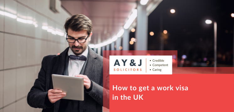 How to get a work visa in UK
